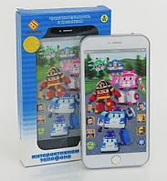 Детский интерактивный телефон айфон JD-002P Robocar Poli (Робокар Поли), фото 1