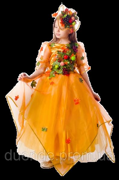 Осень Урожайная новогодний костюм для девочки / BL -  ДС105