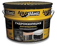 Мастика Aquamast Фундамент 10 кг