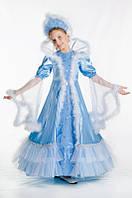 Снежная королева новогоднее платье для девочки