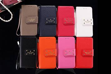 """Iphone 6 / 6S / 6 Plus оригинальный кожаный противоударный чехол книжка НАТУРАЛЬНАЯ КОЖА """" Kate Spade New York"""
