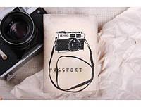 Любительская обложка для паспорта Фотоаппарат