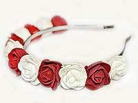 Обруч для девочки с цветами