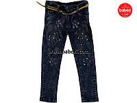 Стильные джинсы для девочки 3,4-5 лет