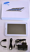 "Планшет SAMSUNG Galaxy Tab 3 экран 7"" дюймов (1 Sim карта, на базе Android) +стилус!"