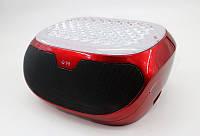 Мини-бумбокс с USB+SD+Bluetooth+сабвуфер+адаптер от сети со светомузыкой Q98
