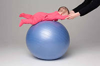 Мяч для фитнеса гладкий (фитбол) 75 см