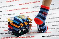 Носки детские термо махра антискользящие. Детские махровые носки
