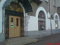 Кованые решетчатые двери Киев