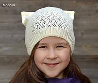 Шапка Сережки с ушками кошки, фото 1