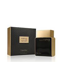 Мужская парфюмированная вода Calvin Klein Euphoria Men Liquid Gold (Кельвин Кляйн Эйфория Мен Ликвид Голд)