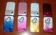 Мобильный раскладной телефон Nokia W666 (2 сим) металлический корпус!