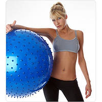 Мяч для фитнеса массажный 65 см фитбол