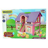 Большой домик фирмы Wader - Домик для кукол
