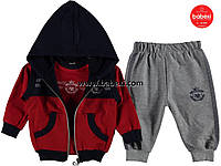 Спортивный костюм 3-ка для мальчика 2 года. код.204357