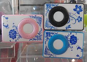 MP3 плеер с цветочками и с прищепкой