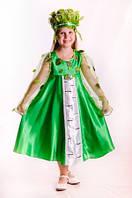 Березка новогодний карнавальный костюм для девочки