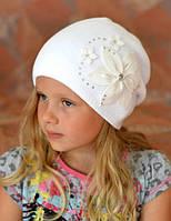 Белая шапка для девочки , фото 1