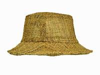Шляпа из натуральной ткани