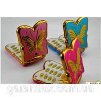 Мобильный раскладной телефон для девочек  в виде бабочки К 198 (2 sim)