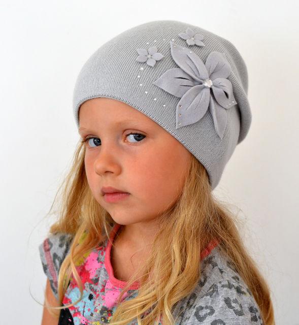 Красивая шапка для девочки мода 2018