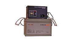 ДБЖ Вольт МАХ-300 + Акумулятор LP-100MGL = 8-12 год автономної роботи котла опалення!, фото 1