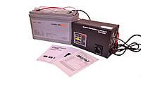 ДБЖ Вольт МАХ-300 + Гелевий акумулятор LP-100GL = 8-12 год автономної роботи котла опалення!