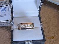 Печатка из серебра с золотом