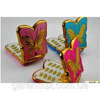 """Телефон раскладушка для девочек и девушек """"бабочка"""" к198 mini (2 сим карты)"""