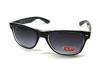 Черные солнцезащитные очки Wayfarer Ray Ban