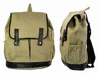Модный коричневый рюкзак