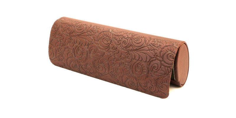 Футляр-чехол для очков коричневый