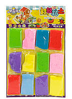 Разноцветная масса для лепки 12 шт.