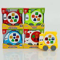 Детская музыкальная игрушка Машинка