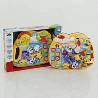 Музыкальная детская игрушка Пианино со зверями
