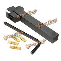Mgehr 1212-2 внешний инструмент рифлени поворота держатель инструмента для резки 2мм с 4шт mgmn200 вставками