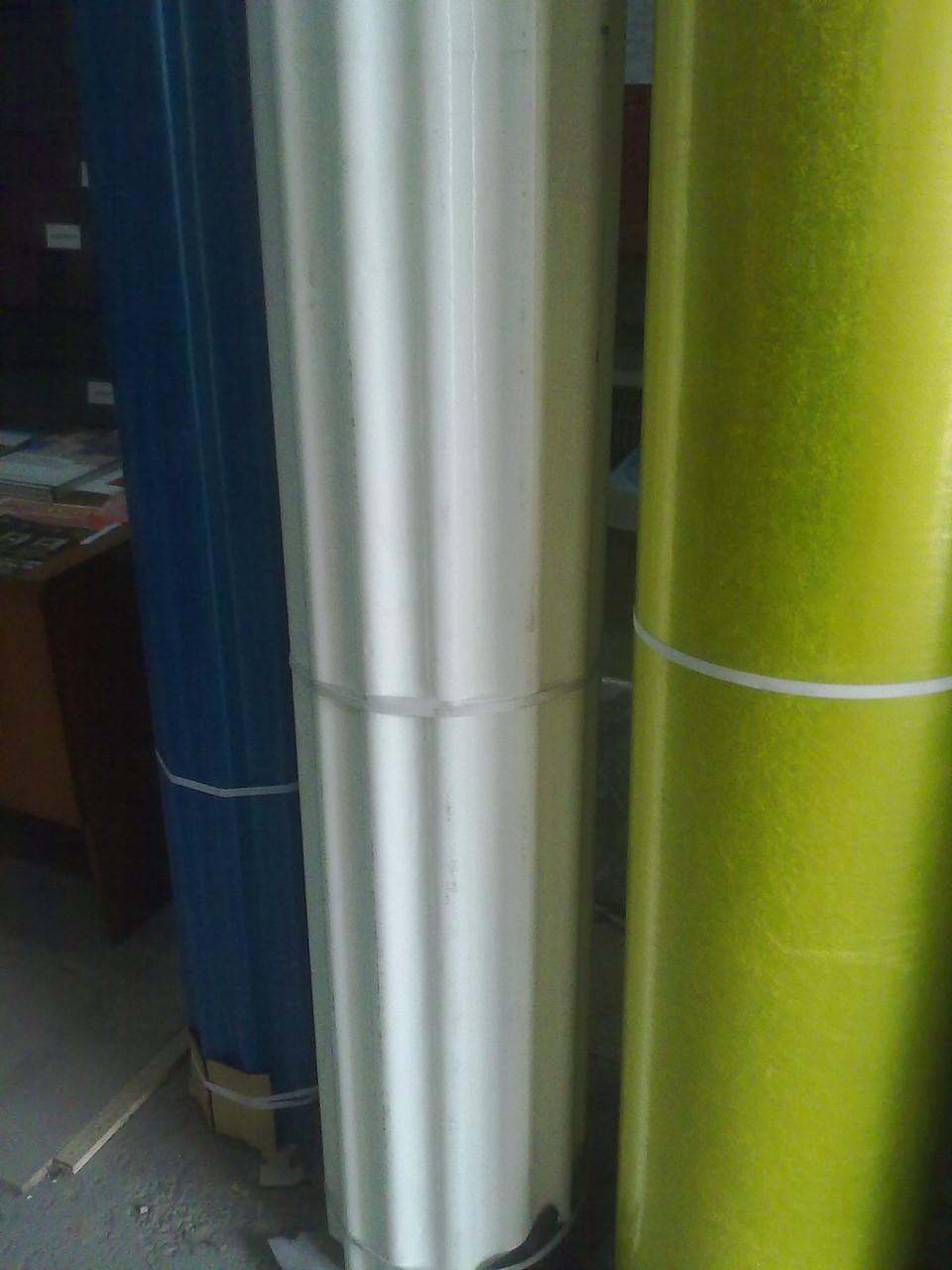 Шифер пластиковый в рулоне прозрачный армированный (желтый,плоский)