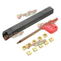 SCLCR-1010h06 10x100мм токарной держатель инструмента с 10шт cсмt0602 вставками