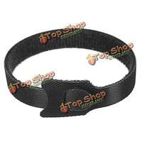 100шт Black Nylon Cable Ties Belt 12мм x 200мм Pack Electric Wire Straps