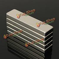 5шт N35 сильных блок кубом магниты неодим редкоземельных 40x10x4мм