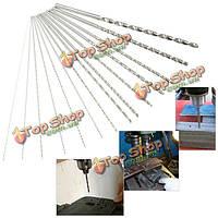 0.5мм-3мм микро HSS спиральное сверло из быстрорежущей стали цилиндрическим хвостовиком сверла 100мм длиной