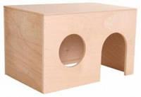 Дом для морской свинки деревянный Trixie , 27*17*19 см