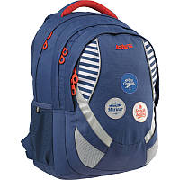 Рюкзак Kite 803 Take'n'Go K15-803L синий школьный детский для девочек с отделением для ноутбука и органайзером