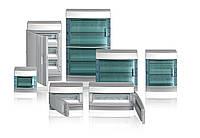 Шкаф электрический IP41 Mistral, накладной, прозрачные двери, 4-модуля