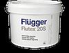 Краска Flugger Flutex 20S (флюгер флютекс 20с)-10л, для стен полуматовая водно дисперсионная, латекс