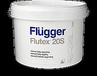 Краска Flugger Flutex 20S(флюгер флютекс 20с)-10л, для стен полуматовая водно дисперсионная, латексная