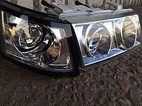 Передние фары на ВАЗ 2110 (хром) стиль Мерседес., фото 1