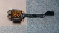 Звуковая аудио плата с картридером для ноутбука Lenovo G570 G470 ls-6751p