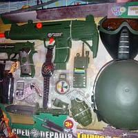 Детский военный набор для мальчика 33570