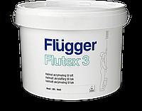 Краска Flugger Flutex 3 (флюгер флютекс 3)-3л, для стен и потолка матовая, латексная(бюджетная)